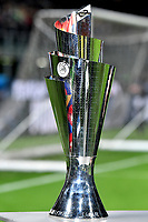 The Nation League trophy is seen ahead the Nations League League A group 3 football match between Italy and Portugal at stadio Giuseppe Meazza, Milano, November, 17, 2018 <br /> Foto Andrea Staccioli / Insidefoto