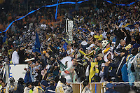 The LA Galaxy defeated the Houston Dynamo 1-0 during the MLS Cup Championship match on Sunday November 20, 2011..