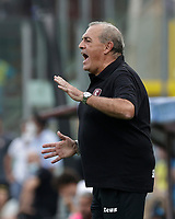 2nd October 2021; Arechi Stadium, Salerno, Italy; Serie A football, Salernitana versus Genoa : Fabrizio Castori coach of Salernitana