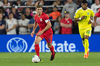 SAINT PAUL, MN - JUNE 18:Wil Trapp of the United States during a 2019 CONCACAF Gold Cup group D match between the United States and Guyana on June 18, 2019 at Allianz Field in Saint Paul, Minnesota.