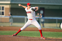 June 27th, 2007:  Clayton Mortensen of the Batavia Muckdogs, Short-Season Class-A affiliate of the St. Louis Cardinals at Dwyer Stadium in Batavia, NY.  Photo by:  Mike Janes/Four Seam Images