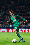 Aleksey Miranchuk of FC Lokomotiv Moscow in action during the UEFA Europa League 2017-18 Round of 16 (1st leg) match between Atletico de Madrid and FC Lokomotiv Moscow at Wanda Metropolitano  on March 08 2018 in Madrid, Spain. Photo by Diego Souto / Power Sport Images