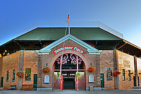 Doubleday Park, Cooperstown New York (home of the baseball hall of fame).