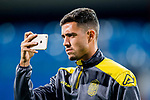Hernan Daniel Santana Trujillo of UD Las Palmas takes photo with cellphone during the training prior to the La Liga 2017-18 match between Real Madrid and UD Las Palmas at Estadio Santiago Bernabeu on November 05 2017 in Madrid, Spain. Photo by Diego Gonzalez / Power Sport Images