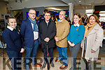 Aoife Hickey, Ken Tobin, Roland Deasy, Pat Sheehan, Grainne Carmody and Ann Looney (IT Tralee) attending the BoI Friday Breakfast Club International Women's Day at the Bank Of Ireland in Tralee on Friday.