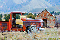 This old dodge truck was laid to rest near Morgan, Utah.