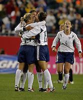 USA Women celebration, USA vs. Norway, in Boston, Ma, 2003 WWC.