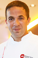 Olivier Falchi, chef. The Restaurant Red at the Hotel Madero Sofitel in Puerto Madero, Buenos Aires Argentina, South America