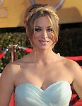 Kaley Cuoco at the 18th Screen Actors Guild Awards held at The Shrine Auditorium in Los Angeles, California on January 29,2012                                                                               © 2012 Hollywood Press Agency
