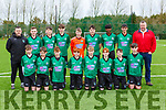 The Castleisland AFC team that played Killarney Celtic in the u14 Premier league in Georgie O'Callaghan PArk on Saturday