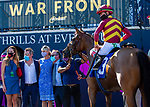 January 23, 2021:  #3 Zofelle (IRE), with jockey Tyler Gaffalione on board, wins the Marshua's River Stakes G3 at Gulfstream Park in Hallandale Beach, Florida.  Liz Lamont/Eclipse Sportswire/CSM