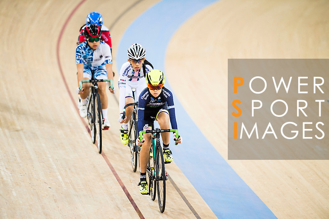 Hui Yat Nga of X SPEED competes during the Women 10km Point Race at the Hong Kong Track Cycling Race 2017 Series 5 on 18 February 2017 at the Hong Kong Velodrome in Hong Kong, China. Photo by Marcio Rodrigo Machado / Power Sport Images