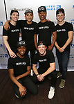 Male cast members from 'Mean Girls' attends the United Airlines Presents: #StarsInTheAlley Produced By The Broadway League on June 1, 2018 in New York City.