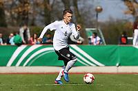 Dennis Geiger (Deutschland, TSG 1899 Hoffenheim) - 25.03.2017: U19 Deutschland vs. Serbien, Sportpark Kelsterbach