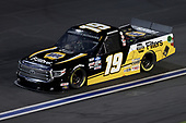 CONCORD, NORTH CAROLINA - MAY 26: Derek Kraus, driver of the #19 NAPA FILTERS Toyota, drives during the NASCAR Gander Outdoors Trucks Series North Carolina Education Lottery 200 at Charlotte Motor Speedway on May 26, 2020 in Concord, North Carolina. (Photo by Chris Graythen/Getty Images)
