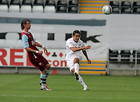 ATTENTION SPORTS PICTURE DESK<br /> Pictured:<br /> Re: Swansea City Football Club v Burnley at the Liberty Stadium, Swansea, south Wales. Saturday 28 August 2010