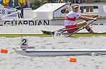 Rowing, Rowing Canada, Canadian single sculls, 1x, Malcom Howard,  2010 FISA World Rowing Championships, Lake Karapiro, Hamilton, New Zealand, repachage - advanced, Thursday, November 4, 2010,