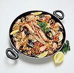 Spain: Seafood Paella   Spanien: Paella