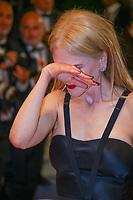 Nicole Kidman sur le tapis rouge pour la projection du film MISE A MORT DU CERF SACRE lors du soixante-dixième (70ème) Festival du Film à Cannes, Palais des Festivals et des Congres, Cannes, Sud de la France, lundi 22 mai 2017. Philippe FARJON / VISUAL Press Agency