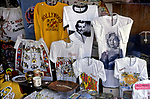 Souvenirs in shop window on Hollywood Blvd circa 1970s