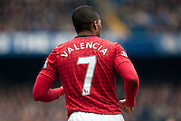 The shirt of Antonio Valencia of Manchester United