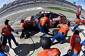 2017 NASCAR Xfinity Series - Boyd Gaming 300<br /> Las Vegas Motor Speedway - Las Vegas, NV USA<br /> Saturday 11 March 2017<br /> Kyle Busch, NOS Energy Drink Toyota Camry pit stop<br /> World Copyright: Nigel Kinrade/LAT Images<br /> ref: Digital Image 17LAS1nk04845