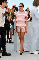 """CANNES, FRANCE - JULY 13: French-Algerian actress Lyna Khoudri, at photocall for the film """"The French Dispatch"""" at the 74th annual Cannes Film Festival in Cannes, France on July 13, 2021 <br /> CAP/GOL<br /> ©GOL/Capital Pictures"""