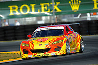 #40 Dempsey Racing Mazda RX-8 of Patrick Dempsey, Joe Foster, Charles Espenlaub & Tom Long