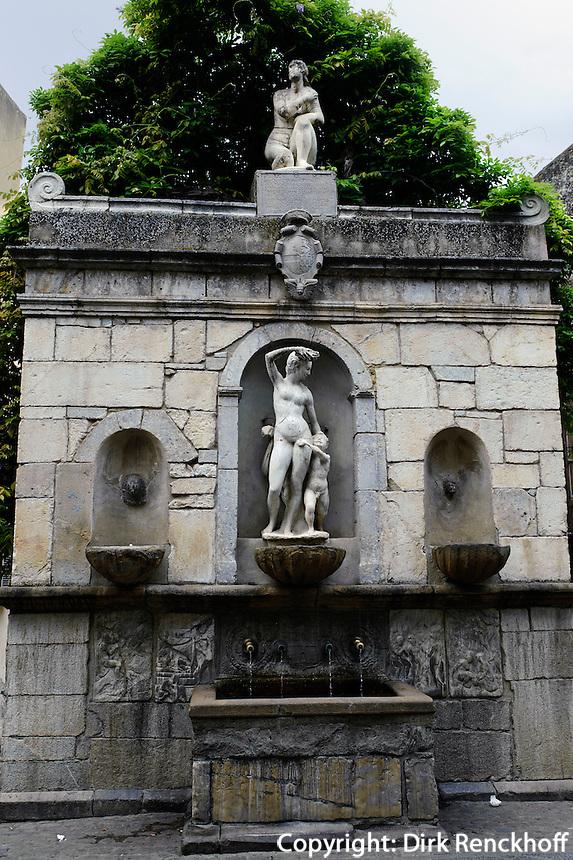 Venusbrunnen in Castelbueno, Sizilien, Italien