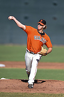 San Francisco Giants pitcher Dylan Brooks (74) during an Instructional League game against the SK Wyverns on October 14, 2014 at Giants Baseball Complex in Scottsdale, Arizona.  (Mike Janes/Four Seam Images)