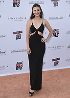 PASADENA, CA - JUNE 4:  Victoria Justice at the 28th Annual Race to Erase MS Drive-In Gala at The Rose Bowl in Pasadena, Friday, June 4, 2021 (Photo by Scott Kirkland/PictureGroup)