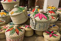 Guatemala, Souvenir-Verkauf an der Strasse nach Chichicastenango