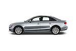 Car driver side profile view of a 2015-2016 Audi A4 Premium 4 Door Sedan