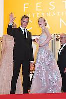 Nicolas Winding Refn, Elle Fanning - CANNES 2106 - MONTEE DU FILM 'THE NEON DEMON'