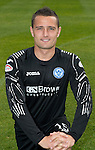 St Johnstone FC Season 2012-13 Photocall.Jonny Tuffey.Picture by Graeme Hart..Copyright Perthshire Picture Agency.Tel: 01738 623350  Mobile: 07990 594431