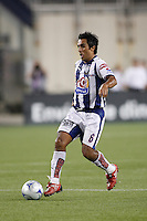 Pachuca CF midfielder Jaime Correa (6). The New England Revolution defeated Pachuca CF 1-0 during a Group B match of the 2008 North American SuperLiga at Gillette Stadium in Foxborough, Massachusetts, on July 16, 2008.