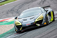 With the second quickest combined times Harry Hayek & Katie Milner, McLaren 570S GT4, Team Rocket RJN put themselves on the front row of the GT4 grid during the British GT & F3 Championship on 10th July 2021