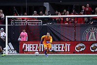 Atlanta, Georgia - Saturday December 08, 2018: Portland Timbers at Atlanta United FC at Mercedes Benz Stadium in MLS Cup 2018.