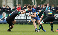 Wednesday 20th March 2019 | 2019 Schools Shield Final<br /> <br /> Gareth Wells during the 2019 Ulster Schools Cup Final between Sullivan and Bangor Grammar at The Dub Arena, Queens University, Belfast, Northern Ireland. Photo by John Dickson / DICKSONDIGITAL