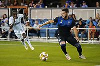 SAN JOSE, CA - SEPTEMBER 26: Vako #11 of the San Jose Earthquakes during a Major League Soccer (MLS) match between the San Jose Earthquakes and the Philadelphia Union on September 26, 2019 at Avaya Stadium in San Jose, California.