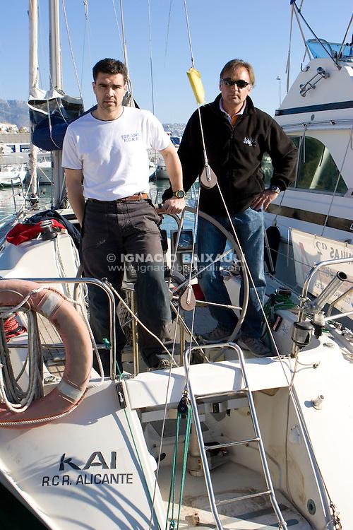 4  .Esp 3045  .Kai  .Maximo Caturla  .José Canto Ramos  .RCR Alicante  .Dehler 34 XXII Trofeo 200 millas a dos - Club Náutico de Altea - Alicante - Spain - 22/2/2008