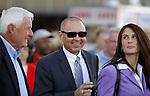 02 OCT 2010: Tony Dutrow (center) trains Havre de Grace, winner of the 41st running of the Gr. II Cotillion Stakes at Parx Racing at Philadelphia Park, Bensalem, PA. (Joan Fairman Kanes/Eclipse Sportswire)