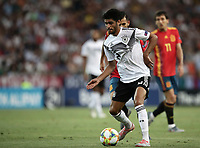 Germany's Mahmoud Dahoud in action during the Uefa Under 21 Championship 2019 football final match between Spain and Germany at Udine's Friuli stadium, Italy, June 30, 2019. Spain won 2-1.<br /> UPDATE IMAGES PRESS/Isabella Bonotto