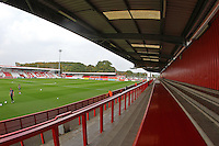 General view of the ground during Stevenage vs Carlisle United, Sky Bet League 2 Football at the Lamex Stadium, Stevenage, England on 03/10/2015
