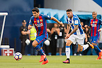 Luis Suarez of FC Barcelona in action during their La Liga match between Deportivo Leganes and FC Barcelona at the Butarque Municipal Stadium on 17 September 2016 in Madrid, Spain. Photo by Diego Gonzalez Souto / Power Sport Images