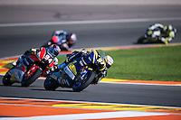 VALENCIA, SPAIN - NOVEMBER 8: Xavi Vierge during Valencia MotoGP 2015 at Ricardo Tormo Circuit on November 8, 2015 in Valencia, Spain