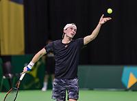 Rotterdam, Netherlands, 10 februari, 2018, Ahoy, Tennis, ABNAMROWTT,  Supermatch semifinal: Thorsten Sollie (NED)<br /> Photo: Henk Koster/tennisimages.com