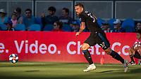 San Jose, CA - Saturday August 03, 2019: Guram Kashia #37 in a Major League Soccer (MLS) match between the San Jose Earthquakes and the Columbus Crew at Avaya Stadium. <br /> .