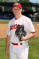 June 30th, 2007:  Jess Todd of the Batavia Muckdogs, Short-Season Class-A affiliate of the St. Louis Cardinals at Dwyer Stadium in Batavia, NY.  Photo by:  Mike Janes/Four Seam Images
