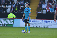 Alex Hartridge of Exeter City during Stevenage vs Exeter City, Sky Bet EFL League 2 Football at the Lamex Stadium on 9th October 2021